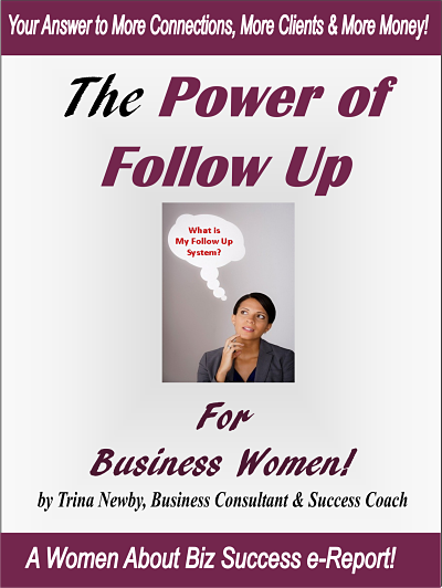 power of follow up for business women 400